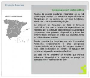 alergologia en el sector publico
