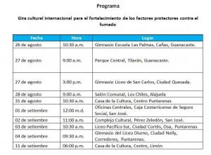 festival cultural internacional contra el fumado2
